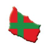bornholm_map_flag