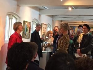 De winnaars van de voorjaarstentoonstelling 2015 van Bornholmse kunst worden bekendgemaakt.